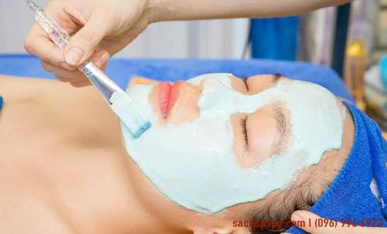Chăm sóc da mặt cơ bản giúp da sáng mịn tại Sắc Đẹp Spa.